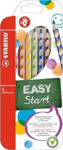 STABILO EASYstart sada 6 pastelek pro praváky