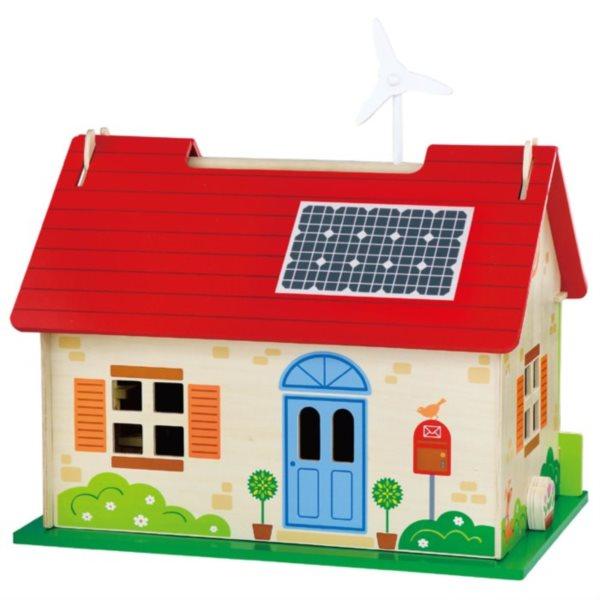 STUDO WOOD: Ekologický domeček pro panenky