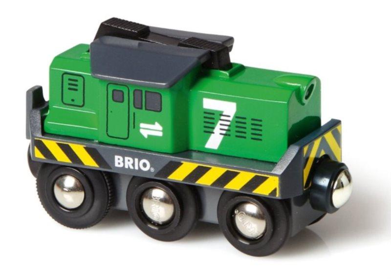 BRIO 33214 Elektrická lokomotiva zelená