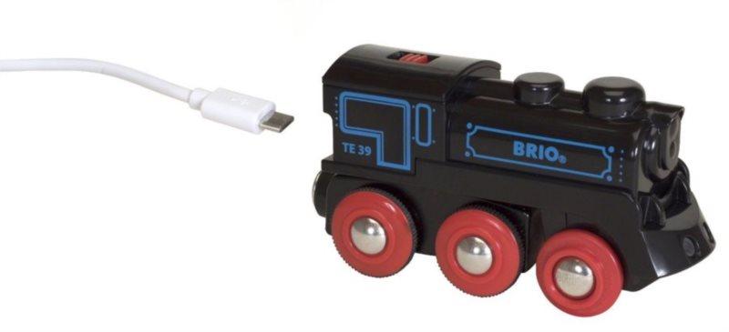 Elektrická nabíjecí lokomotiva