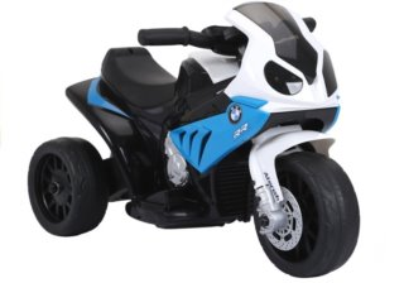 LEAN TOYS Elektrická tříkolka BMW S1000RR modrá