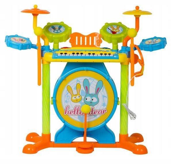 Elektronická sada hudebních nástrojů s bicími