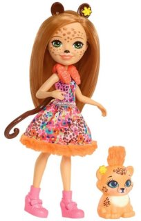 MATTEL Enchantimals Cherish Cheetah & Quick-Quick