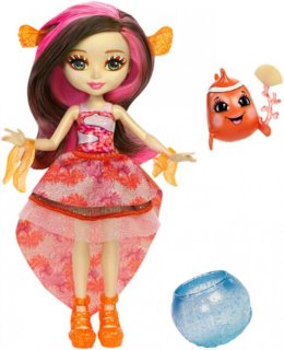 MATTEL Enchantimals Clarita Clownfish & Cackle