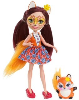 MATTEL Enchantimals Felicity Fox & Flick