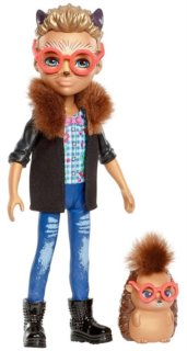 MATTEL Enchantimals Hixby Hedgehog & Pointer