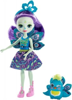 MATTEL Enchantimals Patter Peacock™ & Flap™