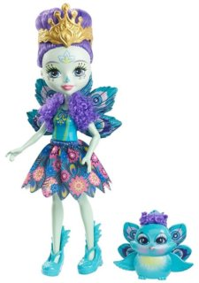 MATTEL Enchantimals Patter Peacock & Flap