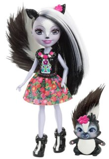 MATTEL Enchantimals Sage Skunk & Caper