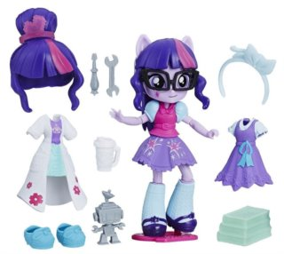 HASBRO, Equestria Girls: Módní set Twilight Sparkle