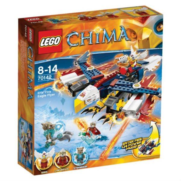 Stavebnice LEGO® Chima 70142 Erisino ohnivé orlí letadlo