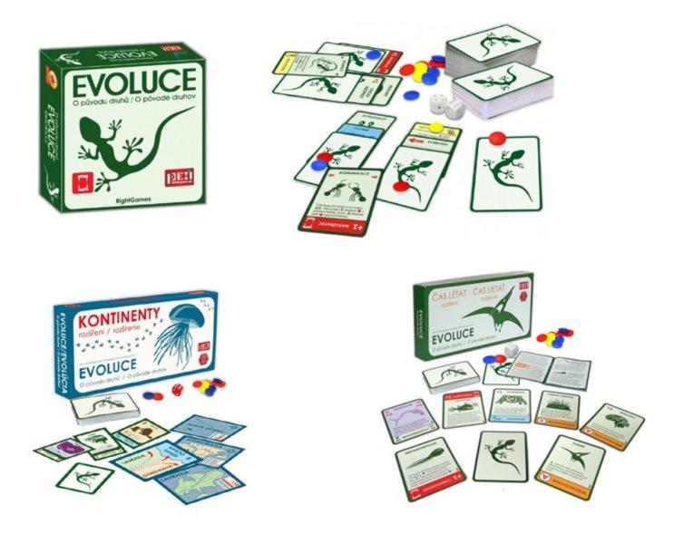 PEXI Hra Evoluce - Trilogie