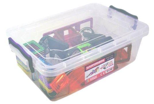 Magnetická stavebnice MAGFORMERS Extenzo Box, 45 dílků