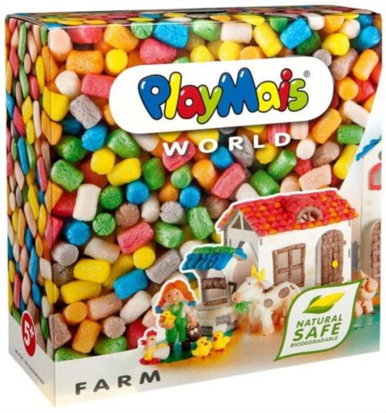 Stavebnice PLAYMAIS: Farma 1000 dílků