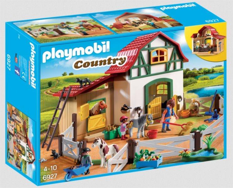PLAYMOBIL® Country 6927 Farma s poníky