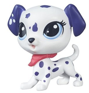 Littlest Pet Shop - Figurka Dasher Spotson