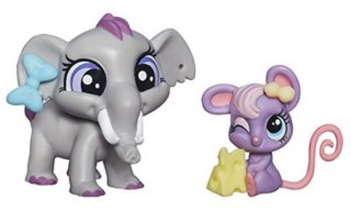 Littlest Pet Shop - Figurka Fletcher von Trunk s miminkem