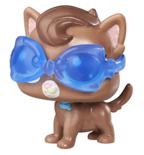 Littlest Pet Shop - Figurka Lunette Pescador