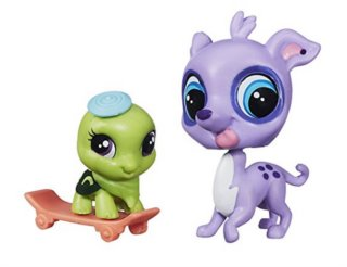 Littlest Pet Shop - Figurka Speedy Carver s miminkem