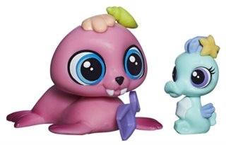 Littlest Pet Shop - Figurka Wallace Waterman s miminkem