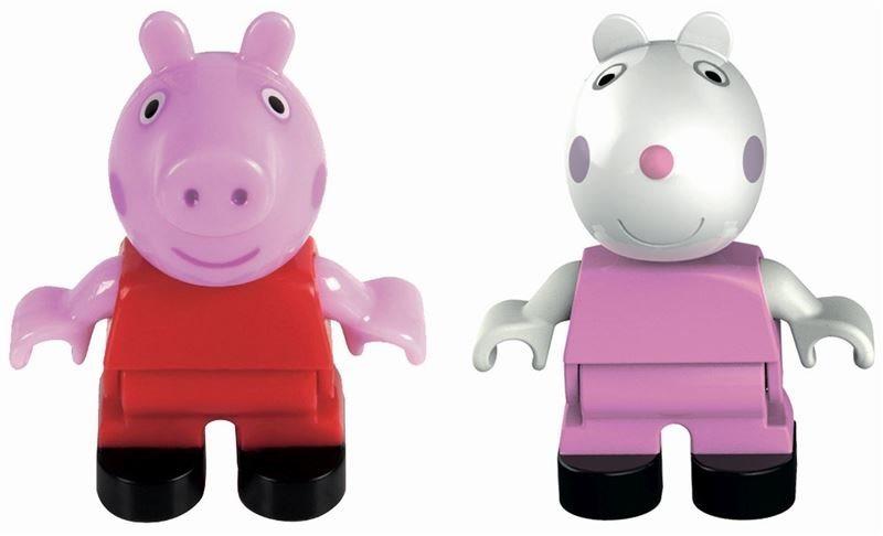Figurky Prasátko Peppa a Suzy