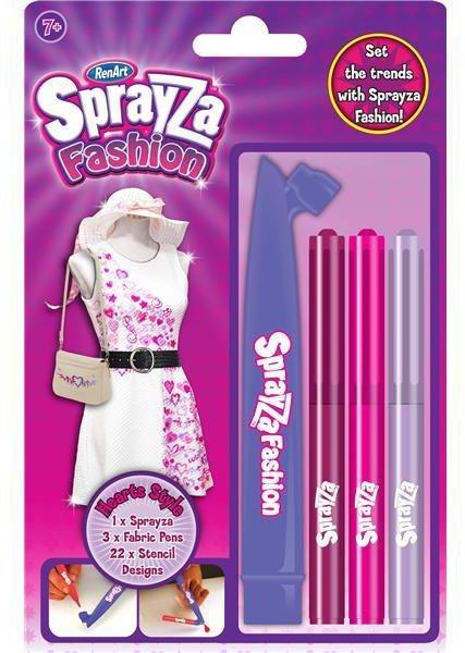 RenArt Fixy na textil SprayZa Hearts Style