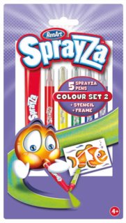 RenArt Fixy SprayZa Color Set 2