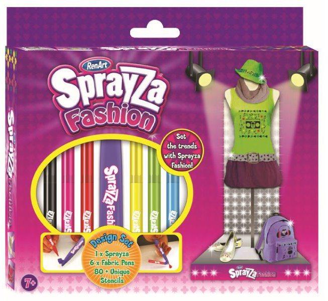 RenArt Fixy na textil SprayZa Design Set 2