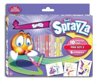 RenArt Fixy SprayZa Pro Set Girls