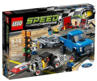 Stavebnice LEGO® Speed Champions 75875 Ford F-150 Raptor a Ford Model A Hot Rod
