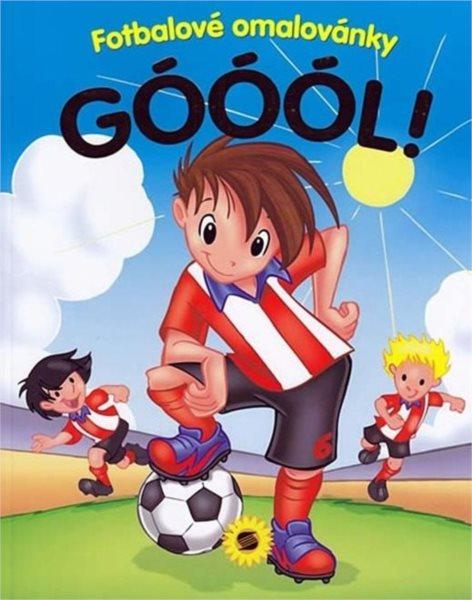 Kniha: Fotbalové omalovánky Góól!, Nakladatelství SUN