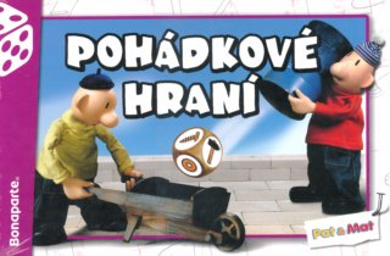 Společenská hra Pohádkové hraní Pat a Mat, BONAPARTE