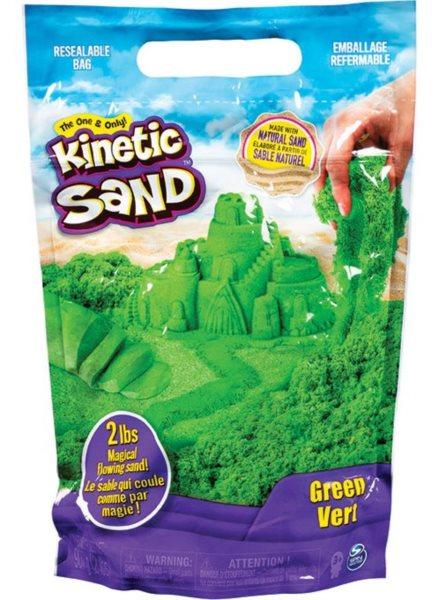 SPIN MASTER KINETIC SAND: Zelený kinetický písek 0,9kg