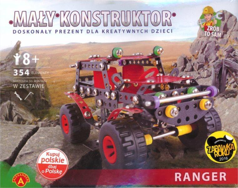 Stavebnice MALÝ KONSTRUKTÉR: Ranger černý