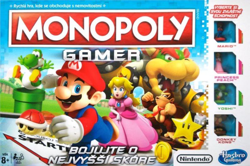 Společenská hra Monopoly Gamer, HASBRO