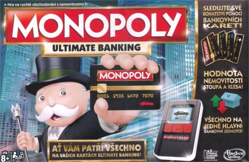 Monopoly Ultimate Banking, HASBRO