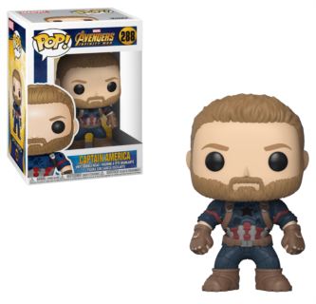 Funko POP! Marvel: Avengers Infinity War - Kapitán Amerika