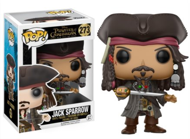 Funko POP! Piráti z Karibiku: Jack Sparrow