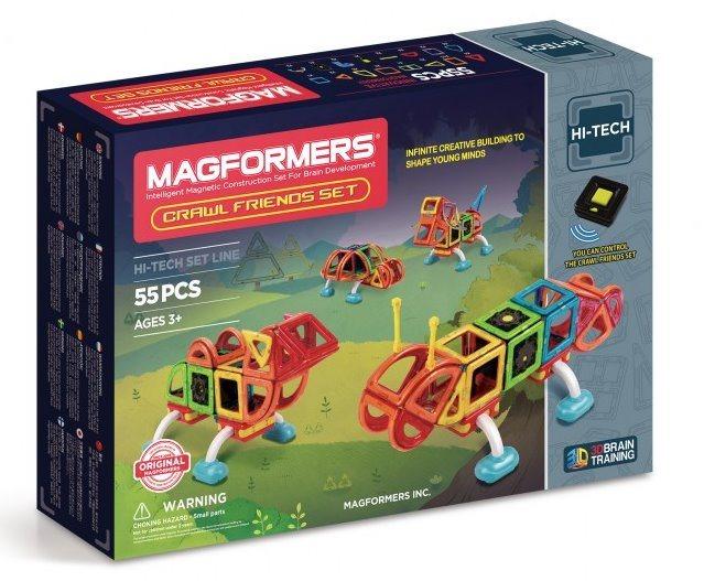Magnetická stavebnice MAGFORMERS Magformers Plazivé příšerky