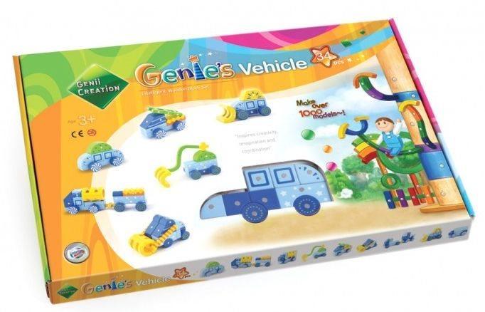 Magnetická stavebnice Genii Creation - Genies auta