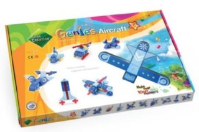 Magnetická stavebnice Genii Creation - Genies letadla