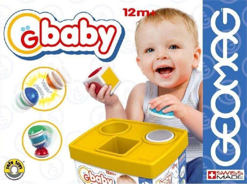 Magnetická stavebnice GEOMAG Baby Bucket