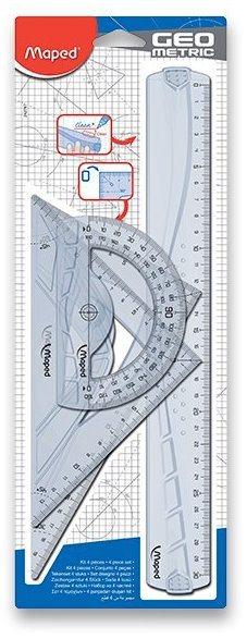 MAPED Geometrická sada Geometric Maxi (4dílná)