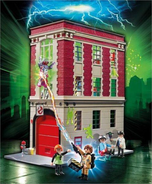 Playmobil 9219 Ghostbusters™ Požární zbrojnice