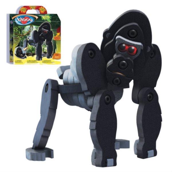 Stavebnice Bloco Gorila 64 dílků