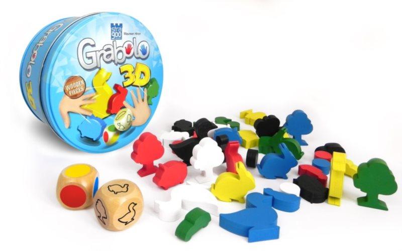 Rodinná zábavná hra Grabolo 3D, STRAGOO
