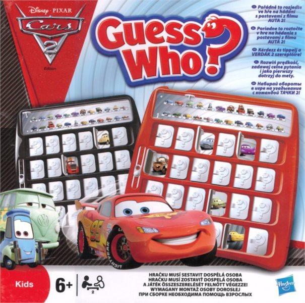 Dětská hra Hádej Kdo? Auta 2, HASBRO