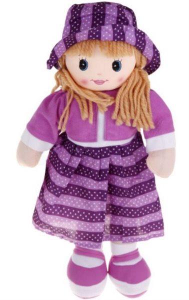 Hadrová panenka fialová