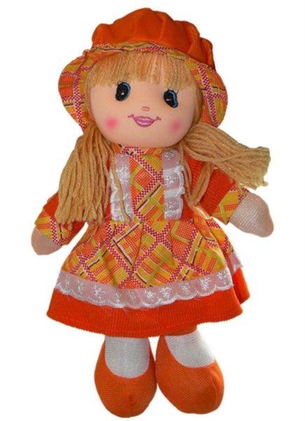 Hadrová panenka oranžová