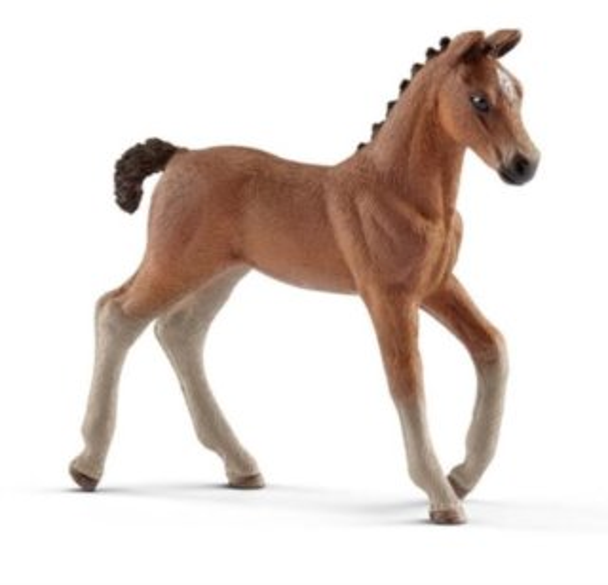 SCHLEICH 13818 Hannoverský kůň - hříbě